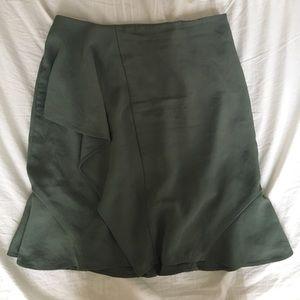 Banana Republic Green Skirt